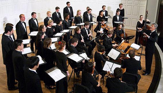 Yale Schola Cantorum Rehearsal